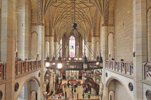 Blick in das Kirchenschiff der Schlosskirche in Lutherstadt Wittenberg von der Orgelempore aus Fotos: Thomas Wieckhorst