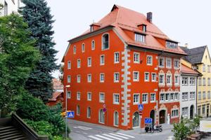 Für das Museum des Verlags Ravensburger AG wurde ein historisches Fachwerkhaus denkmalgerecht saniert