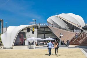 Deutscher Pavillon in Mailand ⇥Foto: Schmidhuber/Milla & Partner/Nüssli