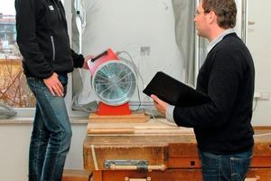 Bei der Zertifizierung Bau mit Sitz in Berlin können sich Handwerksmeister in Sachen Luftdichtheitsprüfer fortbilden lassen<br />Foto: Zertifizierung Bau<br />