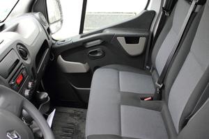 Die multifunktionale Beifahrerdoppelsitzbank...