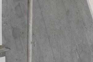 Anpassung des Mörtels an die ursprünglich gewollte Optik