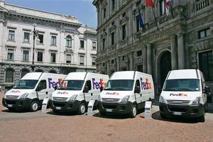 Im vergangenen Jahr startete Iveco gemeinsam mit FedEx Express einen umfangreichen Praxistest mit zehn Daily-Kastenwagen –allesamt mit diesel-elektrischem Hybridantrieb ausgestattet<br />