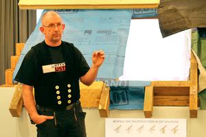 """Auf der """"Schnittstelle Baustelle"""" ging es vor allem um Details und darum, wie unterschiedliche Gewerke auf der Baustelle schadenfrei zusammen arbeiten können<br />Text+Fotos: Thomas Wieckhorst"""