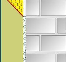 Der weiterentwickelte weber.therm MW Brandriegel plus kombiniert eine nicht brennbare Steinwollplatte mit einem EPS-Dämmplattenkeil. Da der Keil zur Wandfläche abfällt, wird im Brandfall ggfs. geschmolzenes EPS sicher nach hinten abgeleitet. Insbesondere bei noch unverputzten WDVS während der Bauphase wird die Systemsicherheit erhöht<br />