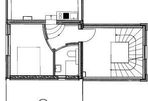 Grundriss 1. OG und Zwischengeschoss<br />