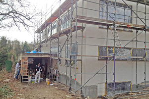 """Die ehemalige Garage wurde ins Wohnhaus integriert<span class=""""bildnachweis"""">Fotos (3): bsp architekten</span>"""