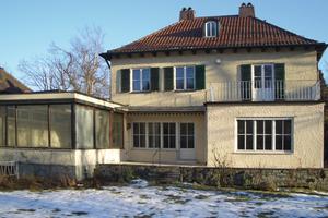 Das 1937 in München erbaute Wohnhaus vor der Sanierung<br />