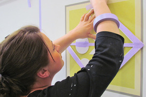 """Handwerker aus dem gesamten Bundesgebiet nahmen an der Fortbildung zum """"Geprüften Vorarbeiter im Maler- und Lackiererhandwerk"""" bei der MEGA eG in Hamburg teil<br />Fotos: MEGA eG<br />"""