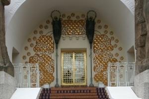 Haupteingang ins Ernst Ludwig Haus<br />