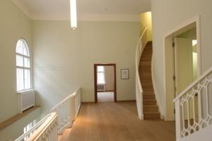 Treppenaufgang für die Studenten in den Hörsaal<br />