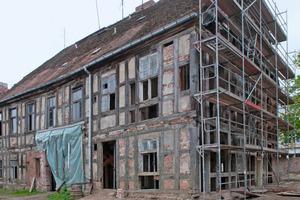 Die 1723 erbaute Bredowsche Domkurie der Hansestadt Havelberg drohte abgerissen zu werden<br /><br />