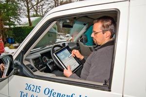 Mit der webbasierten Software project2web werden Fahrtstrecken zuverlässig per GPS und Mobilfunk aufgezeichnet<br />
