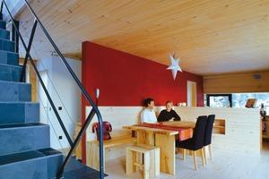 So hatten sich die Bauherren ihr künftiges Zuhause vorgestellt: Traditioneller Baustoff in moderner Form