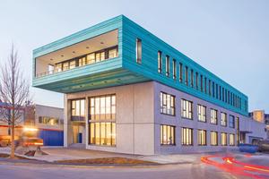 """Basis für zukünftiges Wachstum: das 2015 eingeweihte Schulungs- und Verwaltungszentrum<span class=""""bildnachweis"""">Fotos (3): Collomix</span>"""