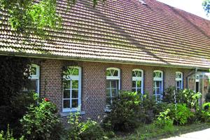 Das niederdeutsche Hallenhaus Pellenhoff wurde zu einem Wohnhaus mit Naturheilpraxis umgebaut und dabei energetisch saniert<br />
