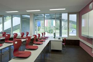 Blick in eines der Klassenzimmer<br />