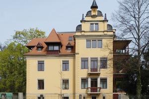 Die energetische Instandsetzung der Dresdner Villa wurde für den experimentellen Nachweis der Funktionstüchtigkeit des iQ-Therm Systems genutzt<br />