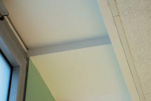 Detail: Deckenrandfries mit glatten Flächen und sauberen Kanten<br />Fotos: OWA