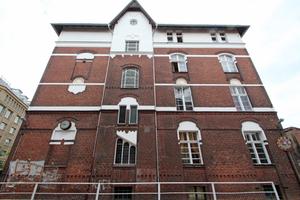 """Beamtenwohnhaus der ehemaligen Akkumulatorenfarbrik Oberspree<span class=""""bildnachweis"""">Foto: Thomas Schwarzmann</span>"""