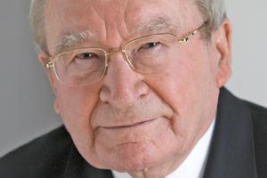 Unternehmensgründer Prof. Artur Fischer starb im Januar dieses Jahres