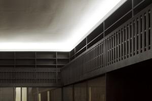 Detail der Innenausstattung im neuen Saal des Kupferstichkabinetts<br />