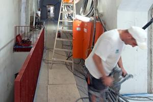 Putzarbeiten an Wänden und Gewölbedecken