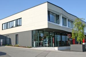 Neues Gebäude für die Produktpräsentation von TMP in Bad Langensalza