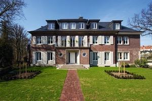 Die 1933 in Gütersloh für Dr. Julius Kirchhoff errichtete Villa wurde 2010 in fünf Wohneinheiten umgebaut und von innen mit mineralischen Platten gedämmt<br />Foto: Knauf Perlite<br />
