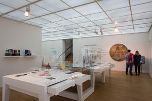 Ausstellungsraum zur Geschichte des Museums<br />
