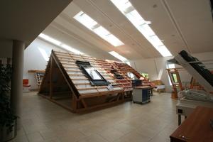 Räume im Weiterbildungszentrum von Velux in Sonneborn