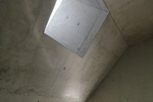 Lichtkanonen im Dachgeschoss