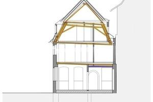 Hebungsplan: Manche Bauteile wurden bis zu 40cm angehobenOhne Maßstab