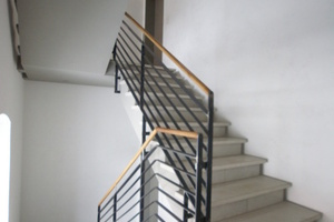 Treppe mit hochwertigem Sichtbetonflächen<br />