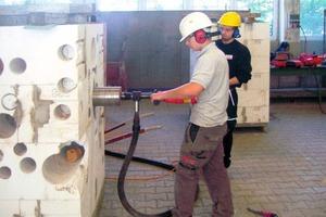 Die Ausbildung zum Bauwerksmechaniker führt zu einem Spezialberuf mit guten Zukunftsaussichten Foto: Fachverband Betonbohren und -sägen