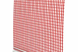 2 Anputzleiste Flexibel:<br />selbstklebende Hart-PVC-Leiste mit komprimiertem PUR-Dichtband und Gewebe