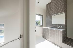 Badezimmer im Obergeschoss<br />