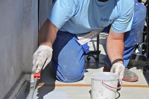 Maßgeschneidert für kleine, enge Baustellen wie Balkone: das Beschichtungsharz ProFloor RS 2K