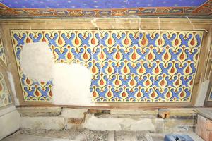 Arbeitsablauf der Restaurierung bis zur wieder hergestellten Fassung