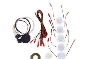 Die Bestandteile des neuen LED-Sets<br />