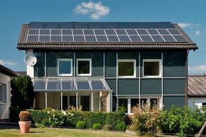 """Eines von vielen Effizienzhäusern, die am 25. und 26. September, dem bundesweit von der dena veranstalteten """"Tag der Energie-Rekorde"""", besichtigt werden können<br />"""