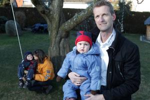 Überzeugt vom Handwerker-Netzwerk: Stuckateur Thomas Löven muss nicht mehr rund um die Uhr arbeiten, sondern hat wieder Zeit für seine Familie