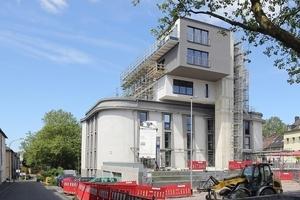 """Ende Juni 2013: Die Aufstockung des Bochumer Bunkers """"Zentralmassiv"""" ist fast abgeschlossen"""