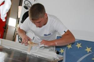 """Stuckateurgeselle Armin Hummel (21) vertritt Deutschland bei der Berufsweltmeisterschaft """"WorldSkills 2011"""" in London <br />"""