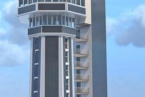 Computeranimation: So soll der Aquaturm in Radolfzell einmal aussehen