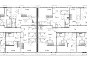 Grundriss 4. Obergeschoss<br />