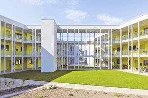 Wohnungsbau auf ehemaligem Fabrikgelände in Lemgo vom Büro h.s.d. architekten<br />Foto: Christian Eblenkamp / artur architektur bilderagentur