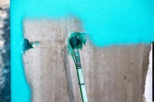 Botament RD 1 Universal wurde im Spritzverfahren aufgetragen