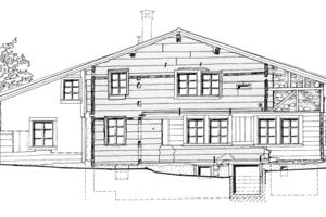 Das 1175 im Kanton Schwyz erbaute und mittlerweile demontierte Nideröst Haus ist das älteste Holzhaus Europas<br />