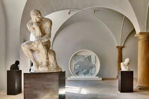 Die Gewölbe im Erdgeschoss des Albertinums stammen noch aus der Erbauungszeit Mitte des 16. Jahrhunderts<br />